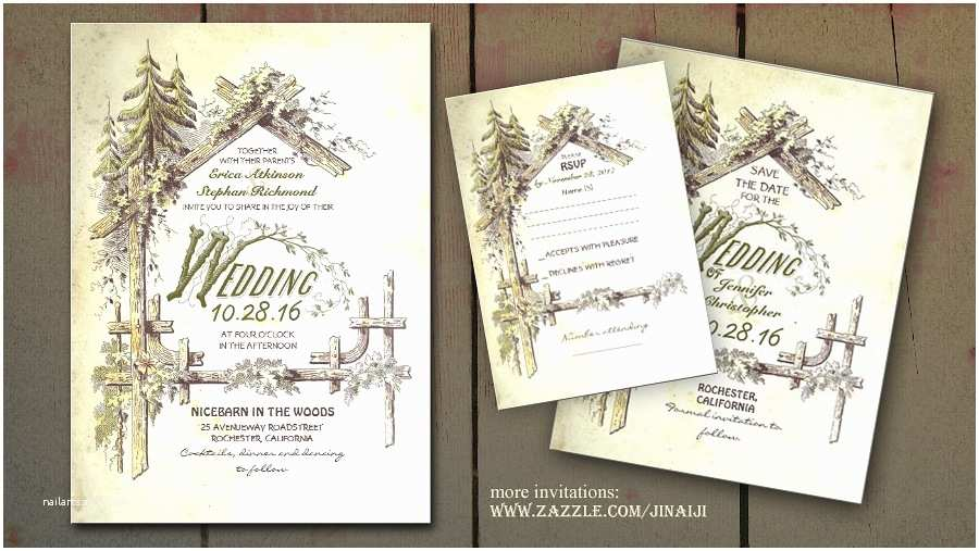 Country Wedding Invitations Barn Wedding Invitations – Gangcraft