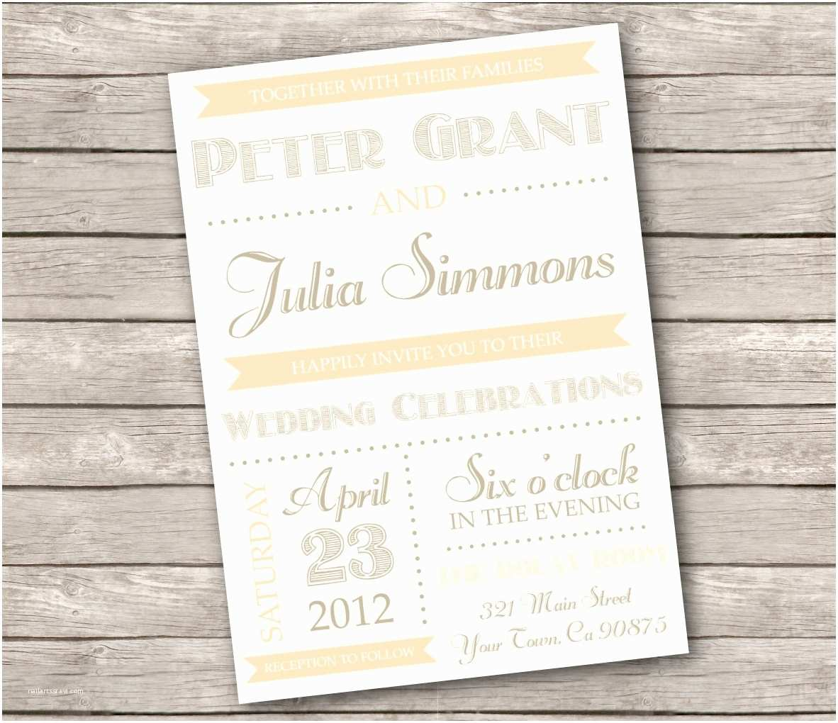 Country Wedding Invitations Country Wedding Invitation Wording Template Resume Builder