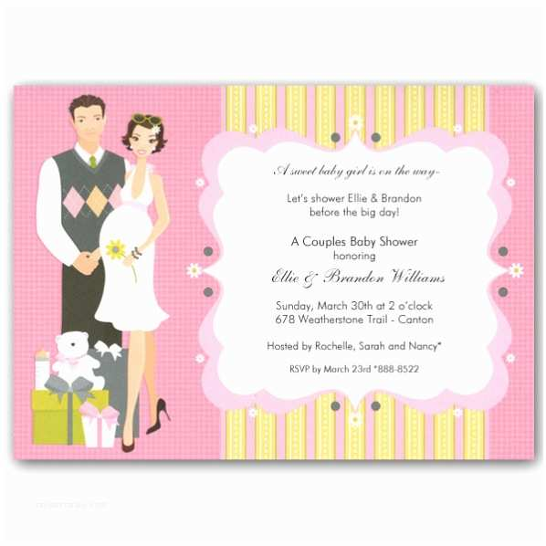 Couple Baby Shower Invitations Happy Shower Girl Images Usseek