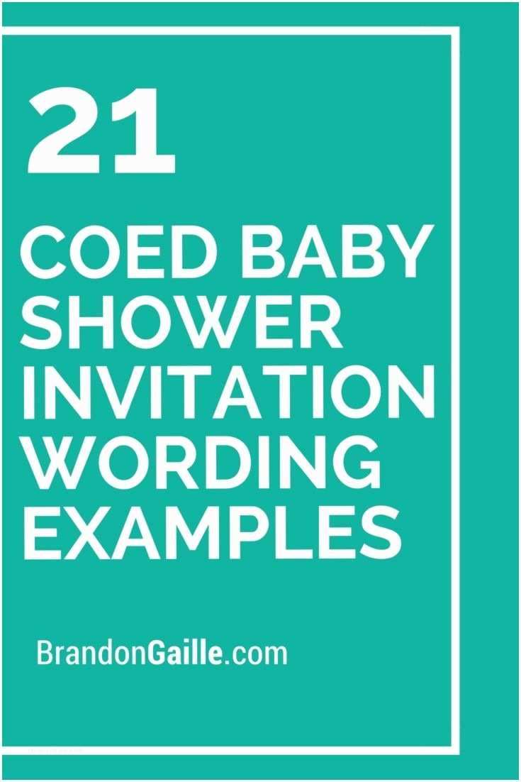 Couples Baby Shower Invitation Wording 21 Coed Baby Shower Invitation Wording Examples