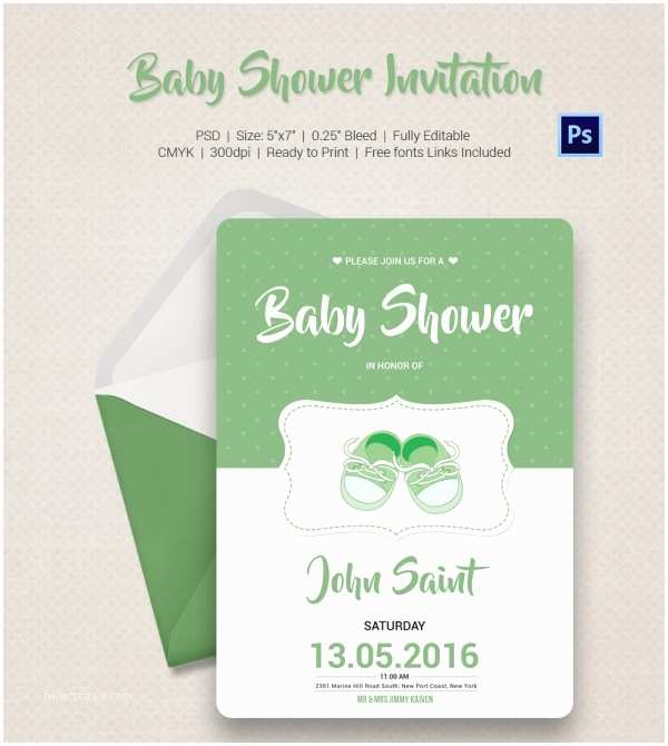 Couples Baby Shower Invitations Baby Shower Invitation Template 22 Free Psd Vector Eps