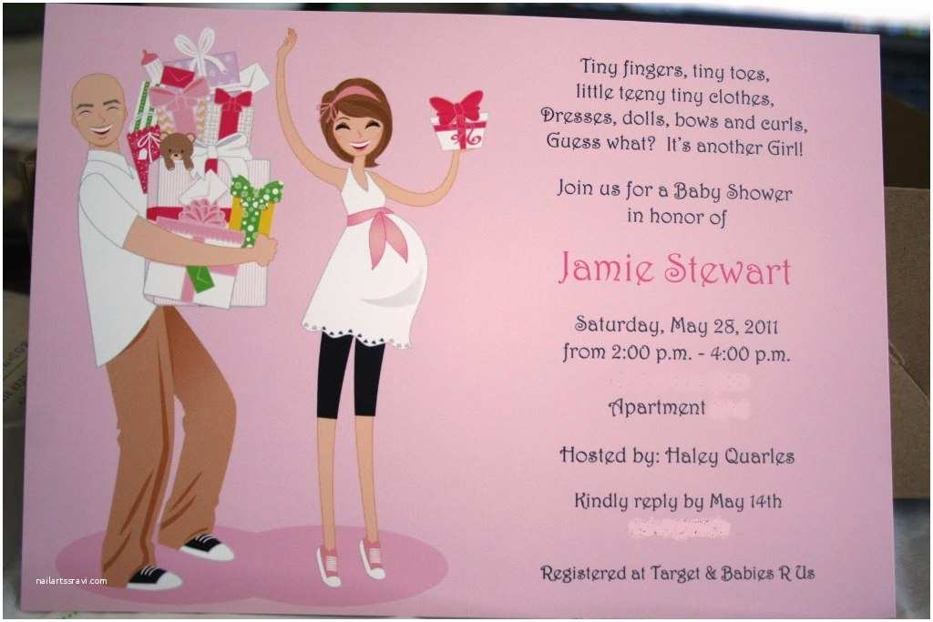 Couples Baby Shower Invitations Couples Baby Shower Invitation Wording Ideas