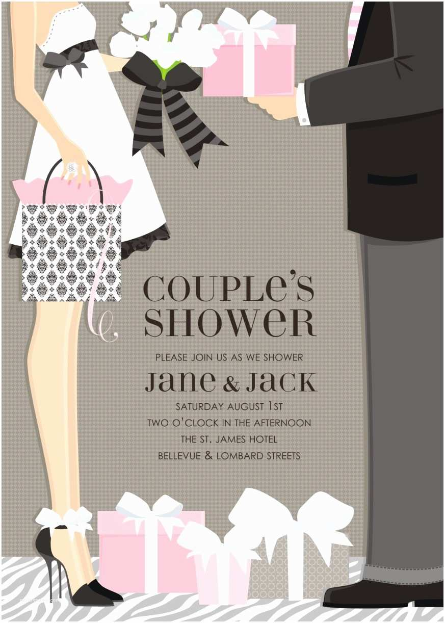 Couples Bridal Shower Invitations In 301