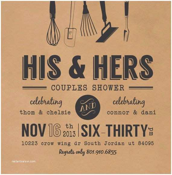 Couples Wedding Shower Invitations 41 Best Engagement Party Invitations Images On Pinterest