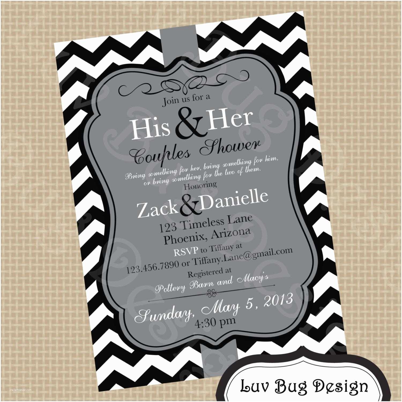 Couples Wedding Shower Invitations Bridal Shower Couples Wedding Shower Invitations Card