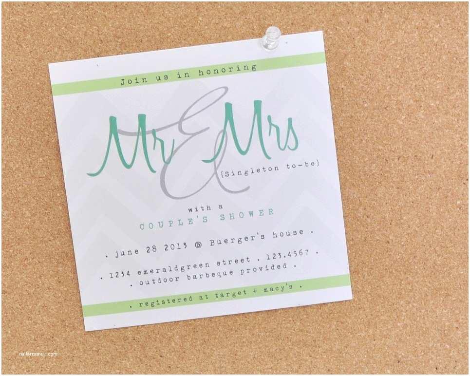 elegant couples shower wedding invite aqua green white