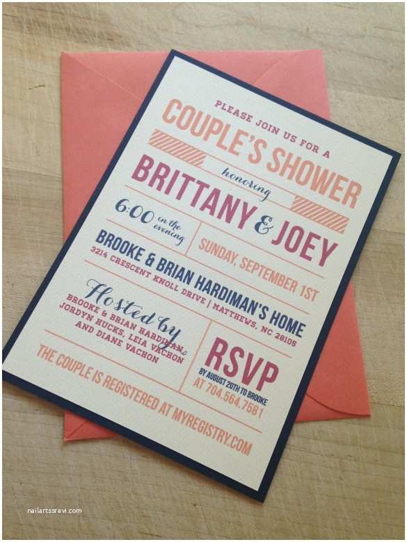 Couples Wedding Shower Invitations Templates Free 26 Wedding Shower Invitation Templates – Free Sample