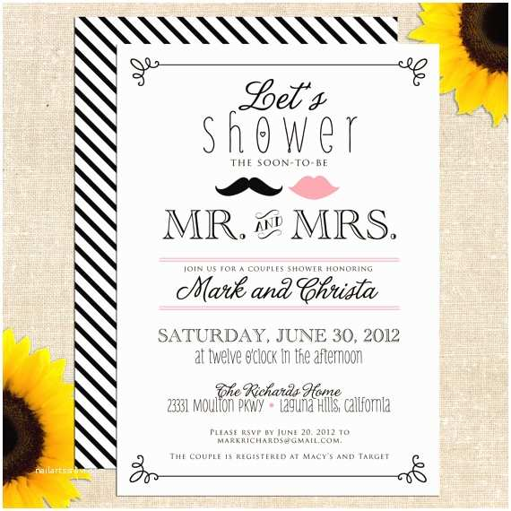 Couples Wedding Shower Invitations Templates Free 6 Best Of Free Printable Bridal Shower Wedding