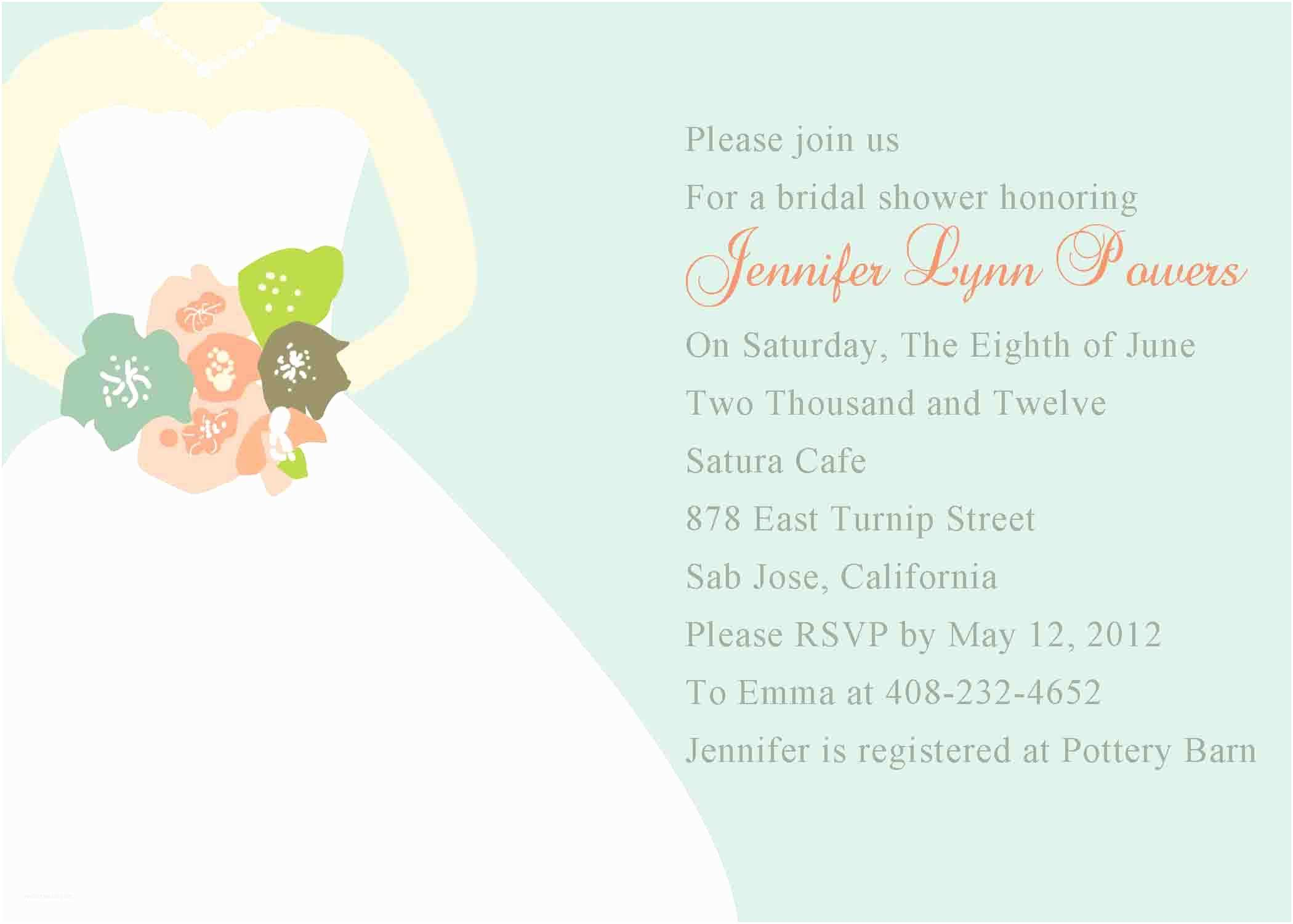 Couples Wedding Shower Invitations Templates Free Bridal Shower Invitation Templates Bridal Shower
