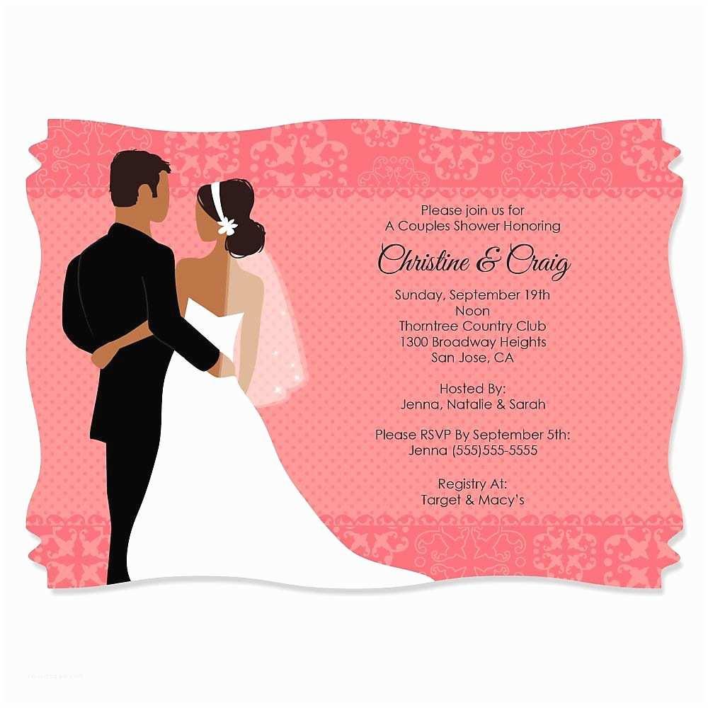 Couples Wedding Shower Invitations Templates Free Card Template Graduation Invitation Template Card