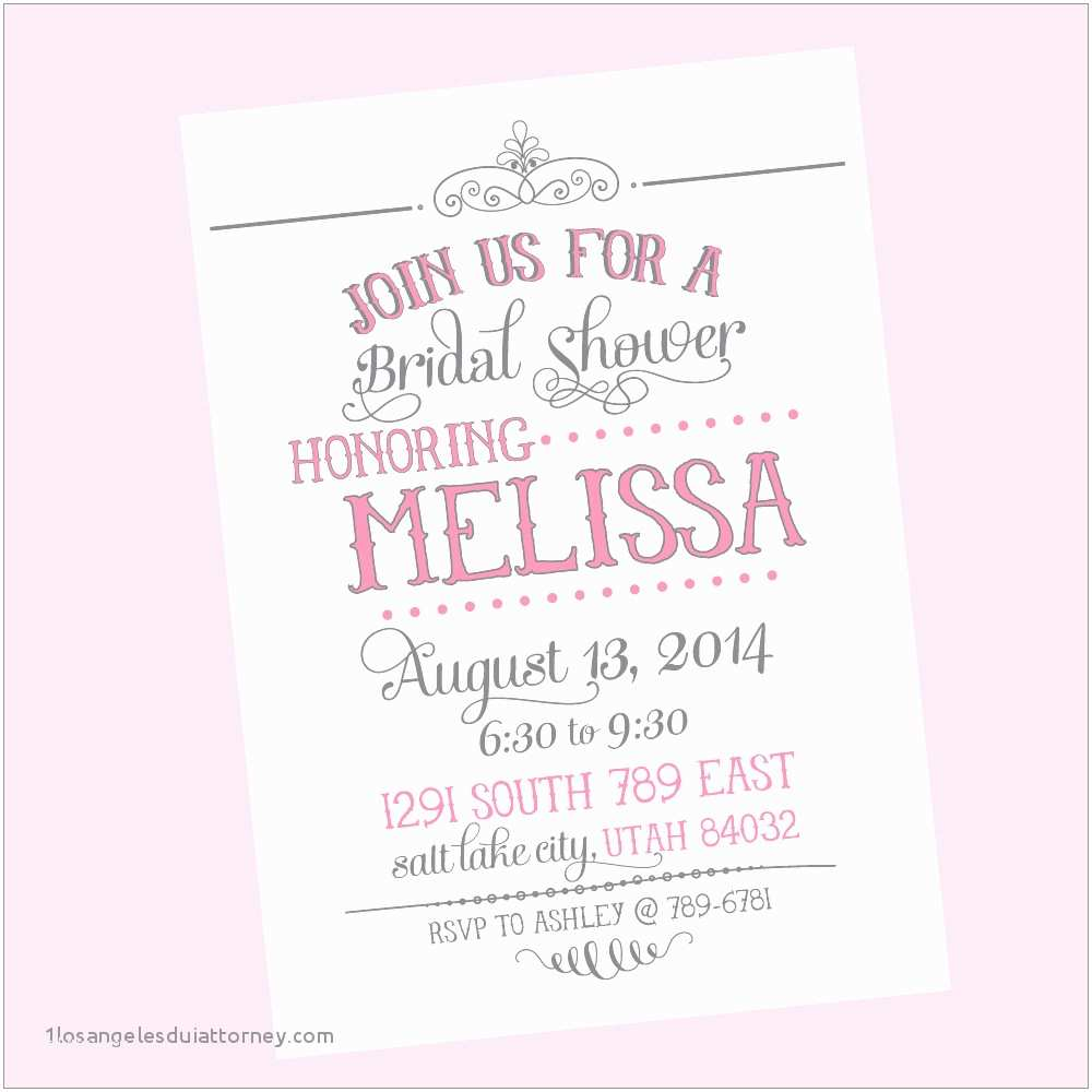 Couples Wedding Shower Invitations Templates Free Fantastic Bridal Shower Free Templates Model