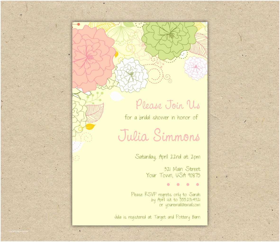 Couples Wedding Shower Invitations Templates Free Free Wedding Shower Invitation Templates Weddingwoow