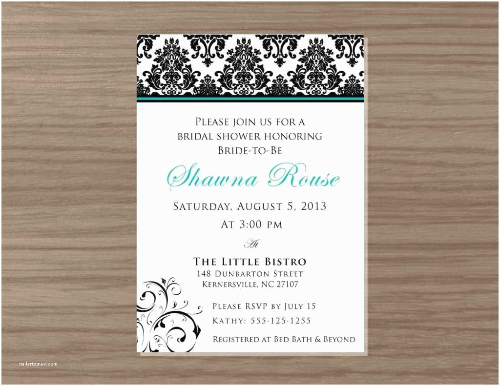 invitation wording for couples bridal shower