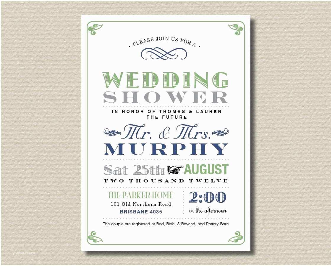 Couples Wedding Shower Invitations Templates Free Printable Couples Wedding Shower Invitation Poster
