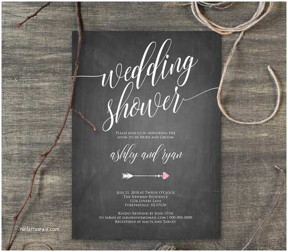 Couples Wedding Shower Invitations Templates Free 26 Wedding