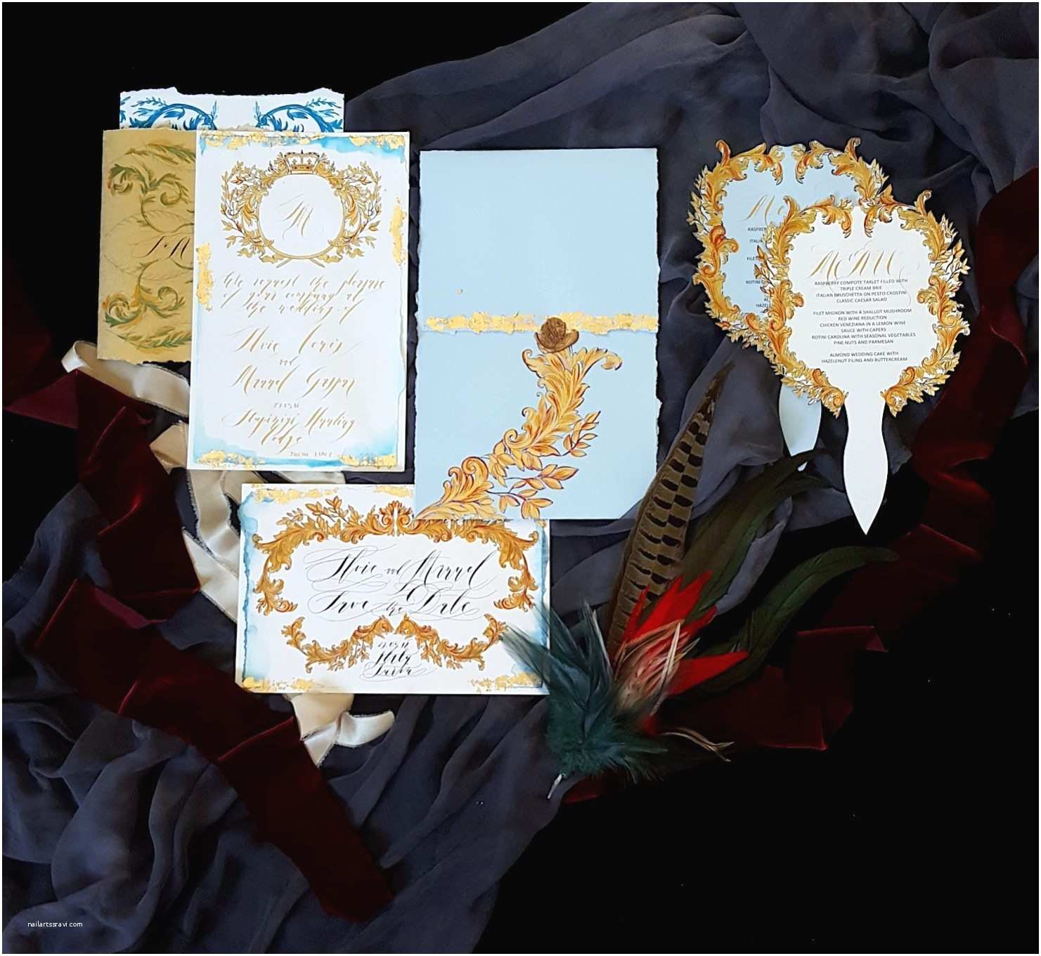 Couture Wedding Invitations Couture Wedding Invitations Inspired by the Magnificence