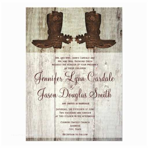 Cowboy Boot Wedding Invitations Wedding Invitations for Country Quotes Quotesgram