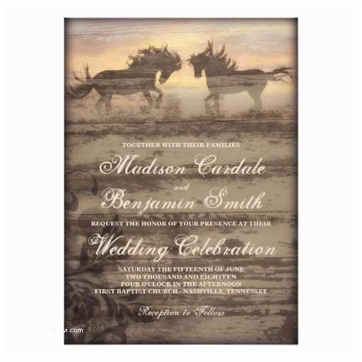 Cowboy Wedding Invitations Templates 109 Best Images About Rustic Cowboy Wedding Invitations On