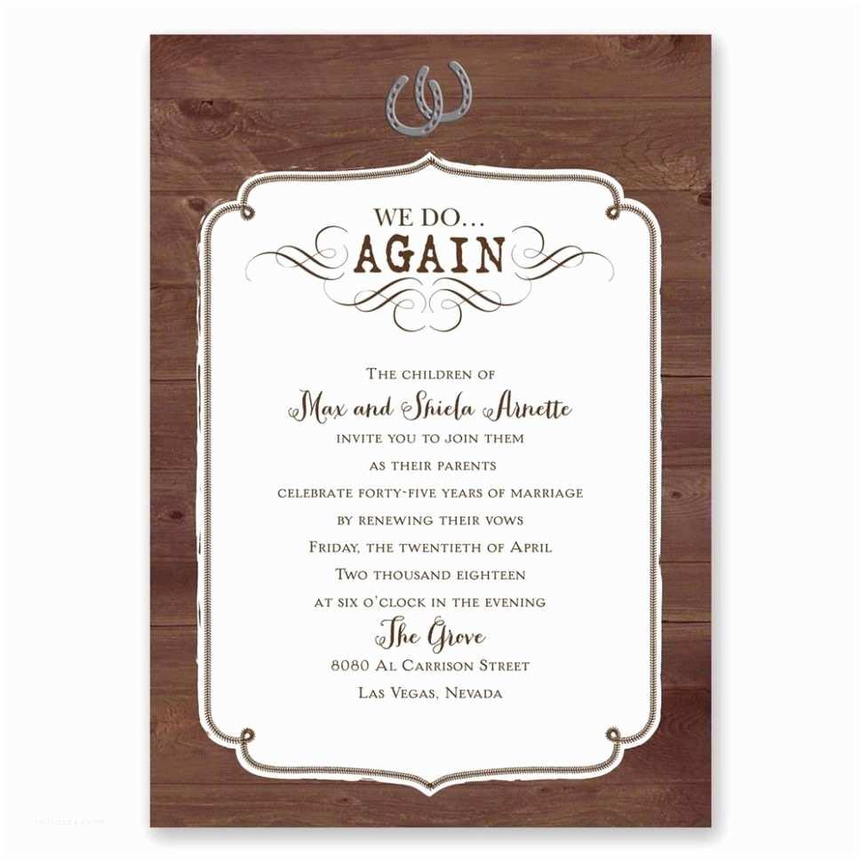 Cowboy Wedding Invitations Templates Modern Western Wedding Invitations Templates Illustration