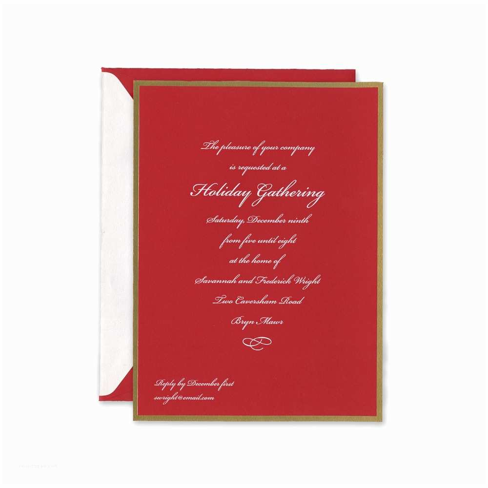 Crane and Co Wedding Invitations Crane & Co Holiday Cards Hyegraph Invitations & Calligraphy