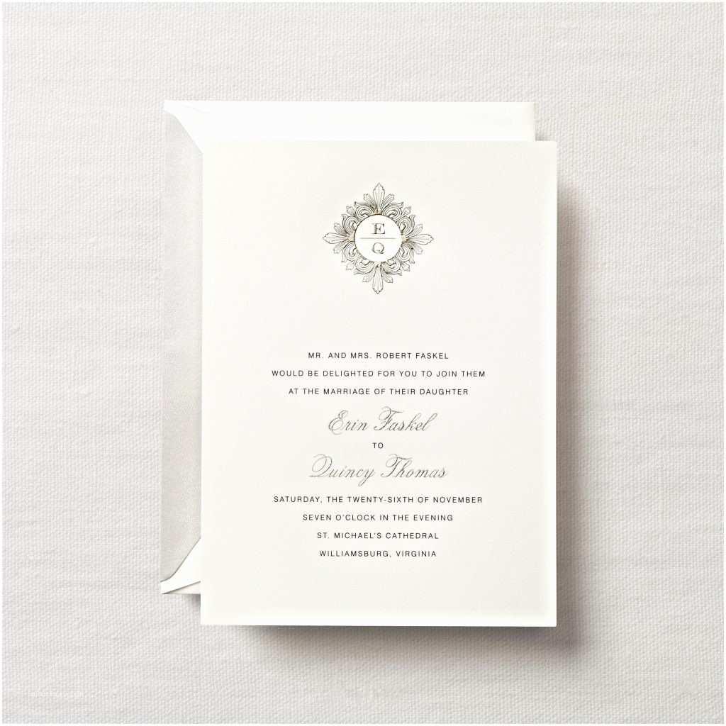 Crane Wedding Invitations Crane & Co Wedding Invitations & Stationery Hyegraph