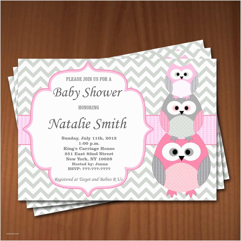 Create Baby Shower Invitations Free Printable Owl Baby Shower Invitations