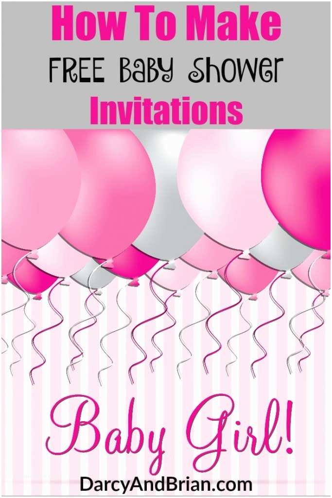 Create Baby Shower Invitations How to Create Free Baby Shower Invitations