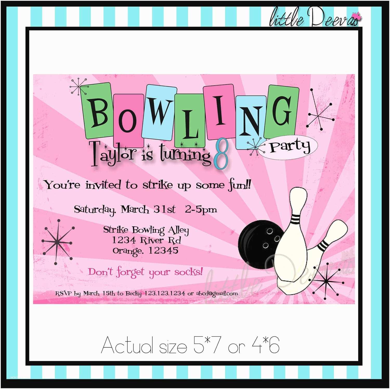 Create Birthday Invitations top 13 Free Printable Bowling Birthday Party Invitations