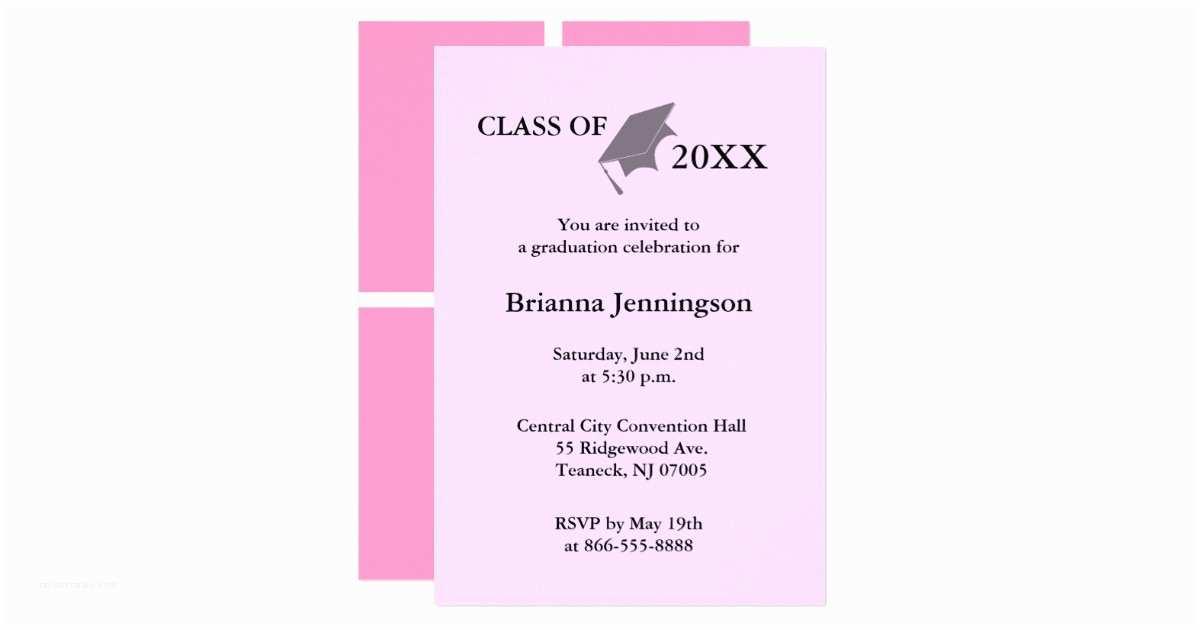 Create Graduation Invitations Create Your Own Graduation Invitation 7