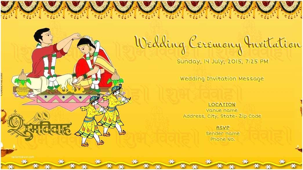 Create Indian Wedding Invitation Card Online Free Free Wedding India Invitation Card & Line Invitations