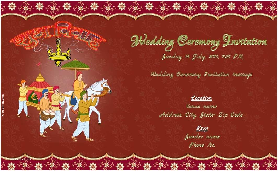 Create Indian Wedding Invitation Card Online Free Free Wedding Invitation Card & Line Invitations