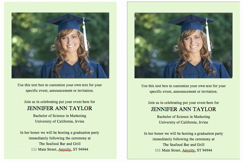 Create Your Own Graduation Invitations top 20 Graduation Invitation Templates Microsoft Word for