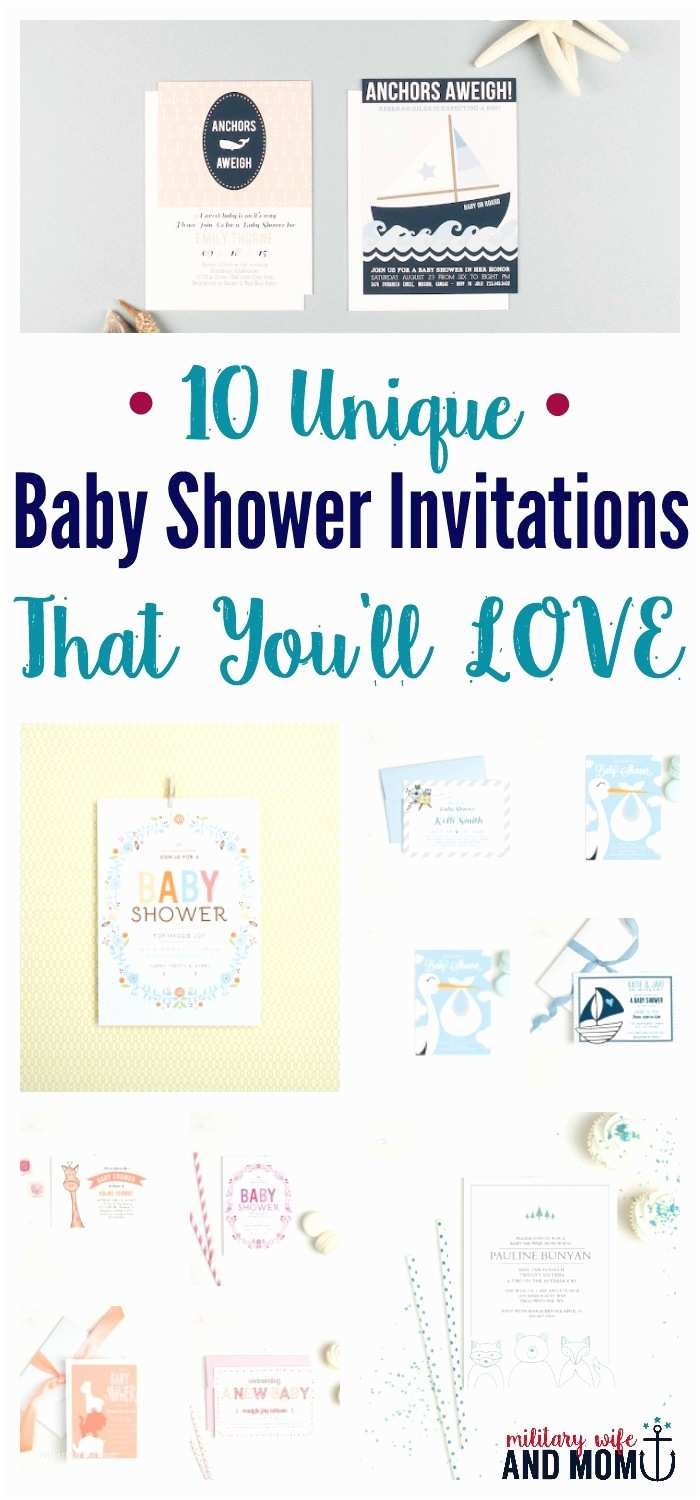 Creative Baby Shower Invitations 10 Unique Baby Shower Invitations that Will Make Your