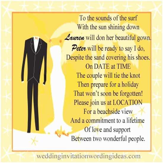 Creative Wedding Invitation Wording Creative Wedding Invitation Wording