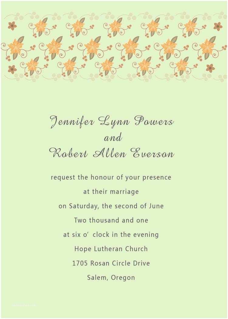 Creative Wedding Invitation Wording Wedding Invitations In Spanish Text