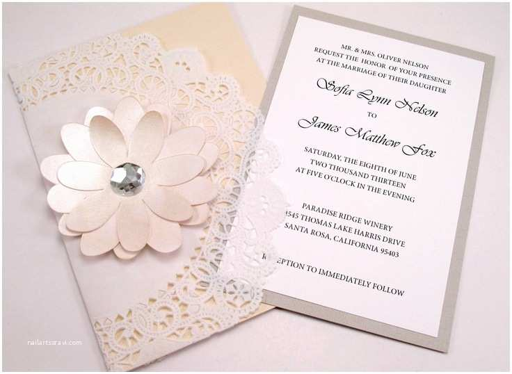 Cricut Wedding Invitations 17 Best Images About Invitations On Pinterest