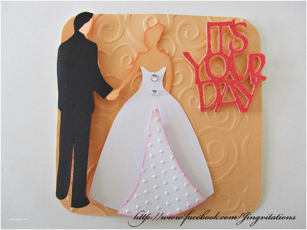 Cricut Wedding Invitations Cartridge Jingvitations Wedding Card or Wedding Invitation From