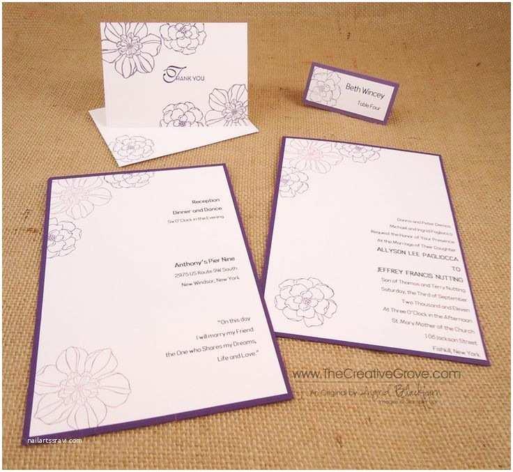 Cricut Wedding Invitations Rummy Cricut Wedding Invitation