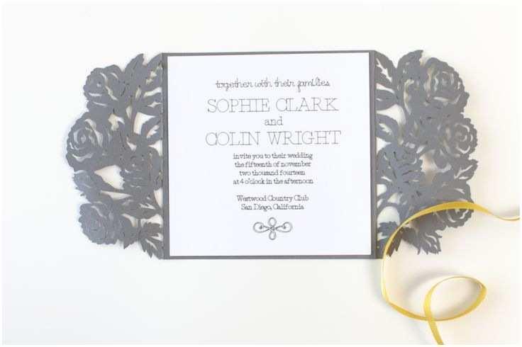 Cricut Wedding Invitations the 25 Best Cricut Wedding Invitations Ideas On Pinterest
