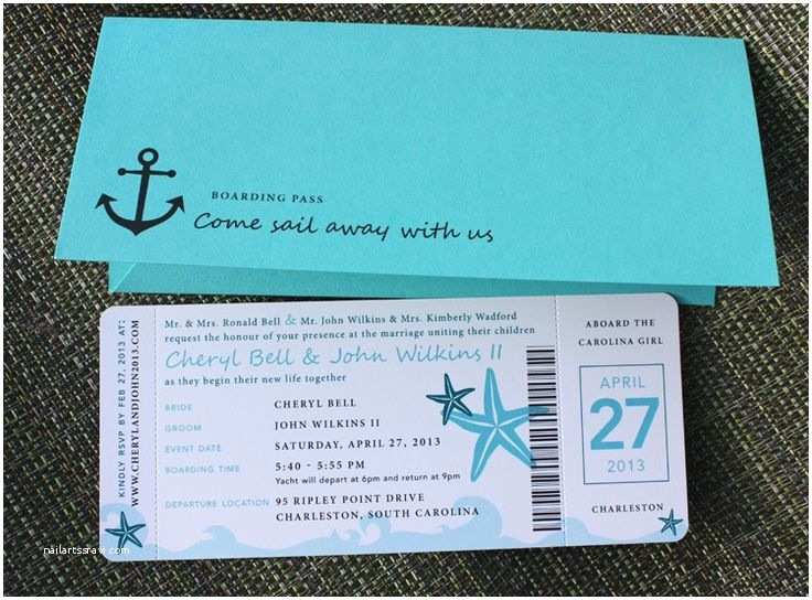 Cruise Wedding Invitations 25 Best Ideas About Carnival Cruise Wedding On Pinterest