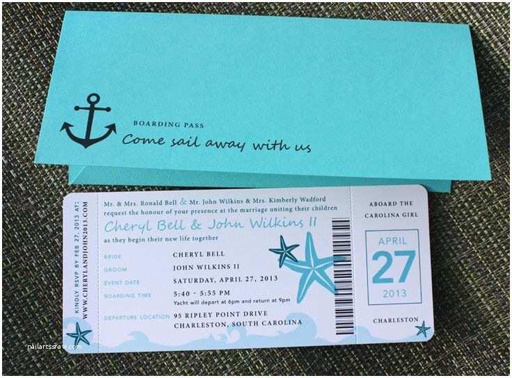 Cruise Wedding Invitations 25 Best Ideas About Carnival Cruise Wedding On Pinterest