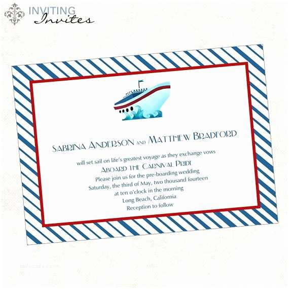 Cruise Wedding Invitations Cruise Ship Wedding Invitation Printable By