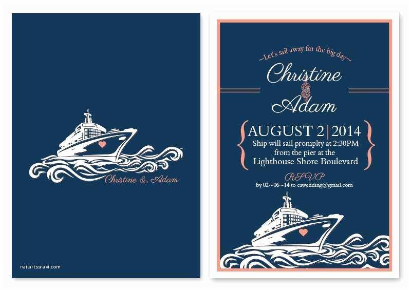 Cruise Wedding Invitations Wedding Invitations Cruise