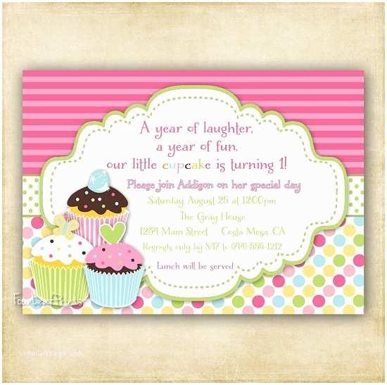 Cupcake Birthday Invitations Cupcake Birthday Invitations Ideas for Her – Bagvania Free