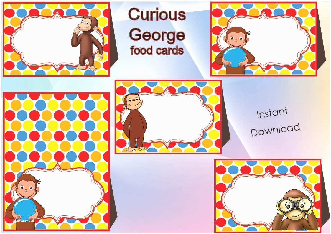 Curious George Birthday Invitations Curious George Party Invitations – Gangcraft