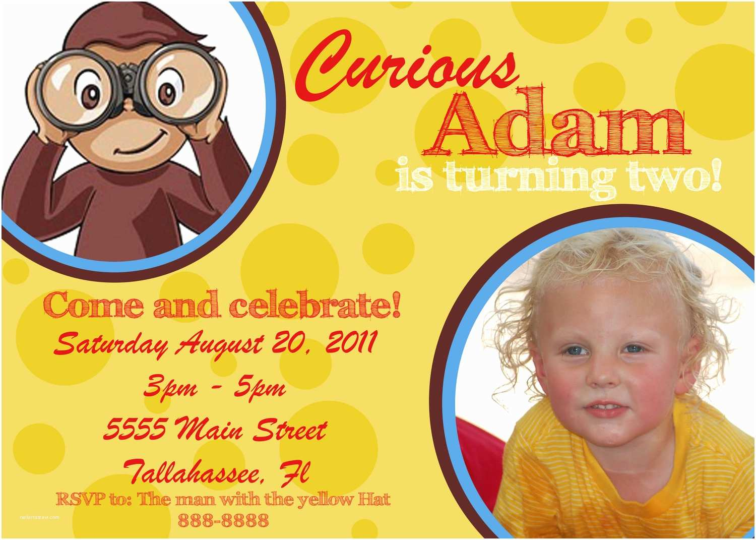 Curious George Party Invitations Chandeliers & Pendant Lights