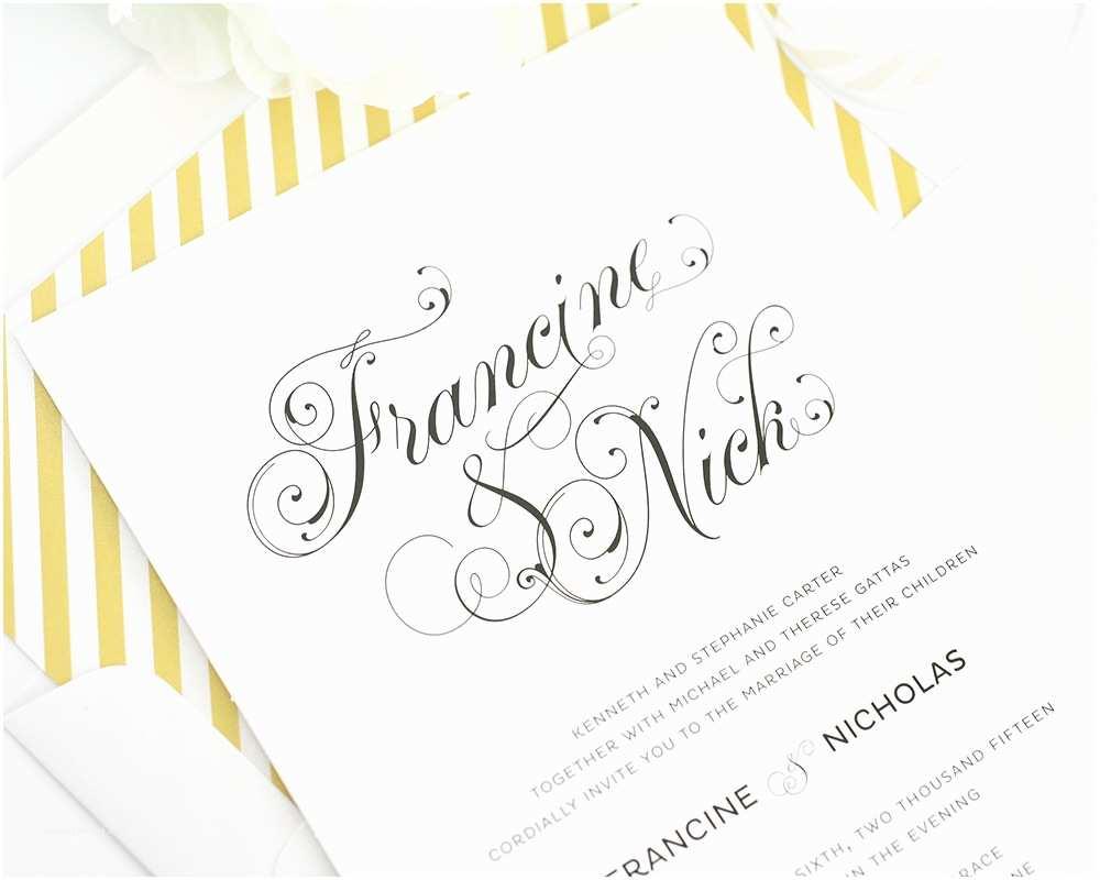 Cursive Wedding Invitations 16 Cursive Fonts for Wedding