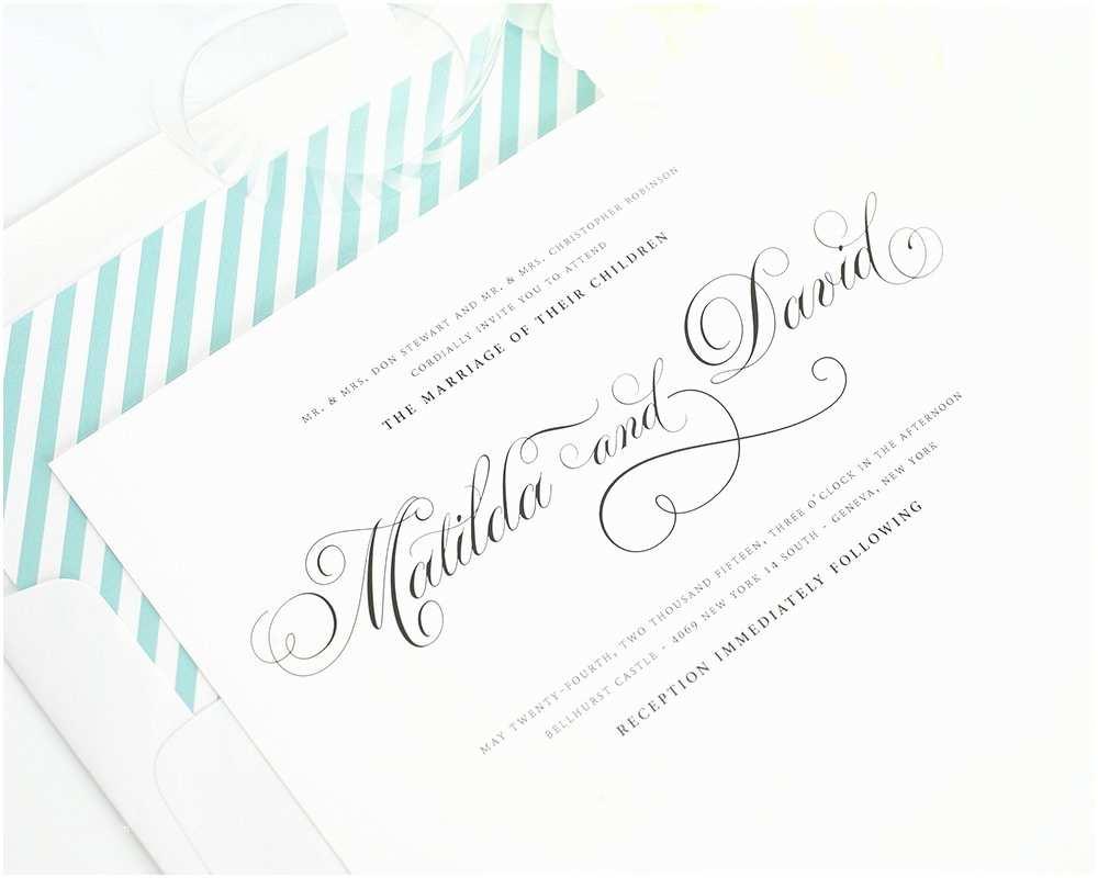 Cursive Wedding Invitations top 10 Wedding Invitations with Script – Wedding Invitations