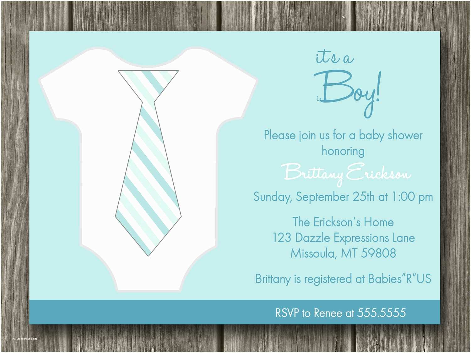 Custom Baby Shower Invitations Custom Invitations for Baby Shower