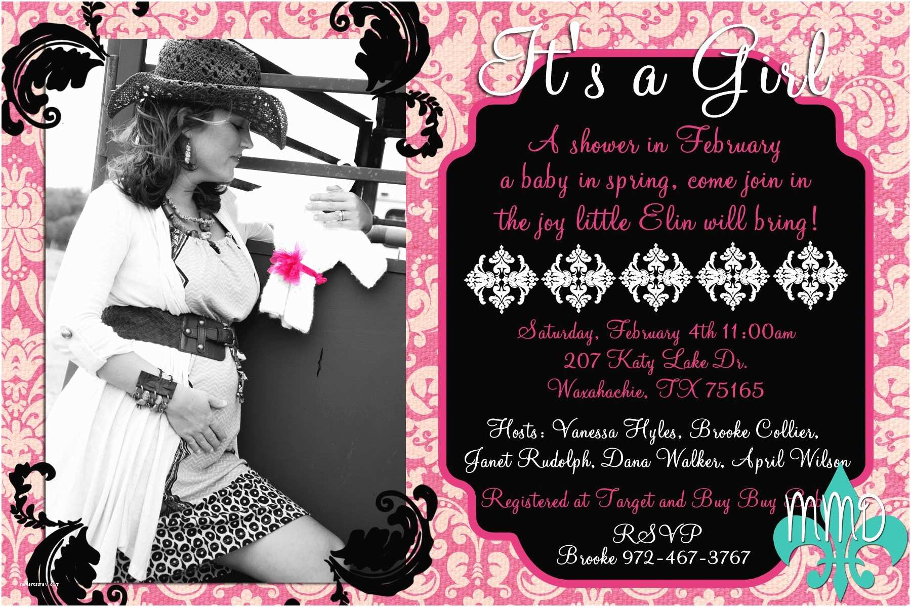 Custom Baby Shower Invitations Invitation for Baby Shower Marvellous Personalized Baby